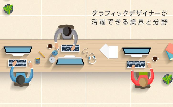 グラフィックデザイナーの就職先とは?